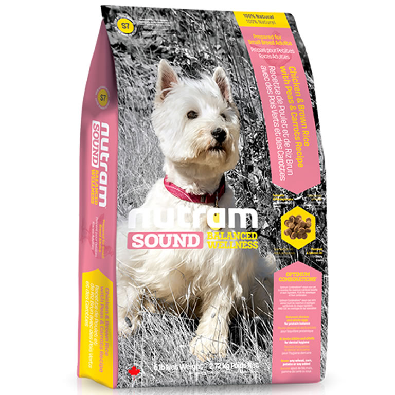 S7 Nutram Sound Small Breed Adult