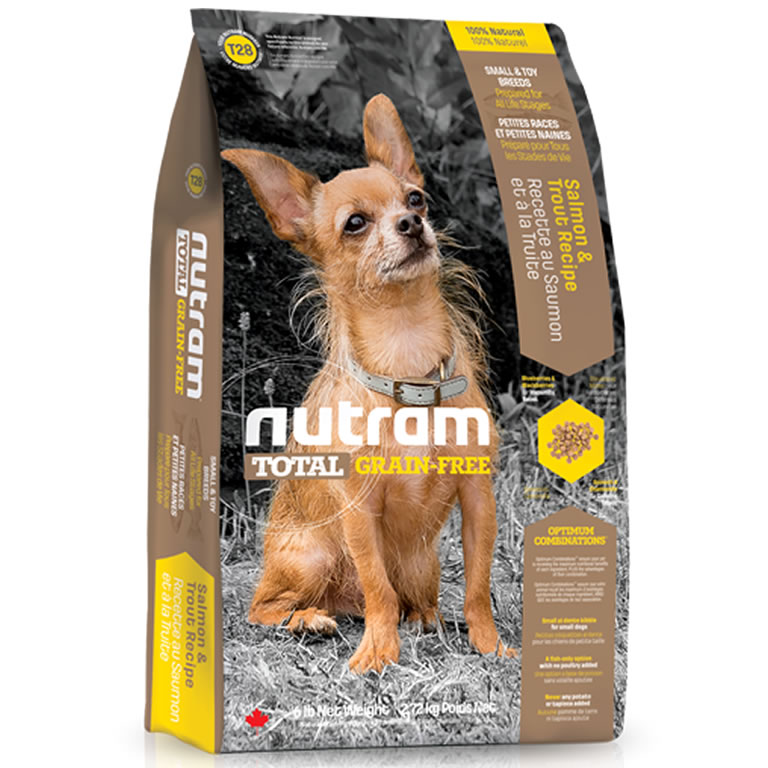 T28 Nutram Total Salmon & Trout Small & Toy Dog