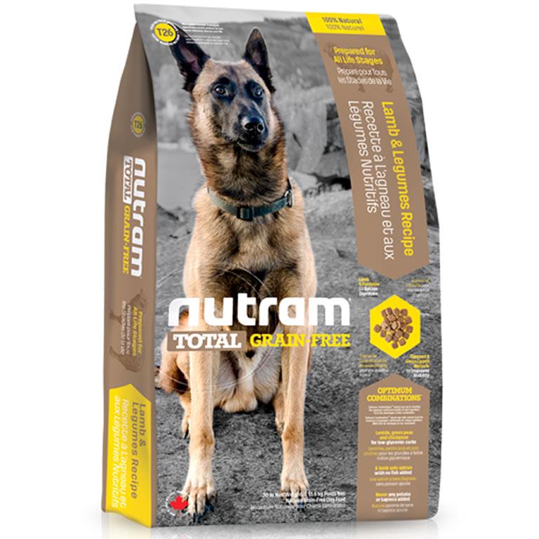 T26 Nutram Total Lamb & Legumes Dog